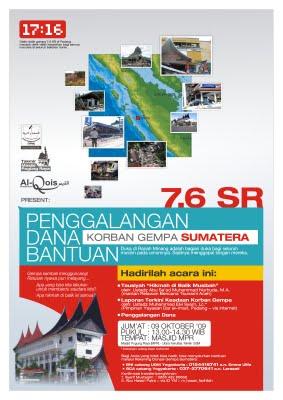 poster gempa